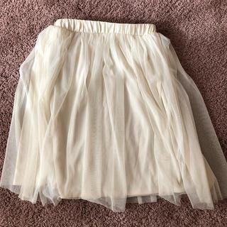 ジーユー(GU)のプリーツスカート(ひざ丈スカート)