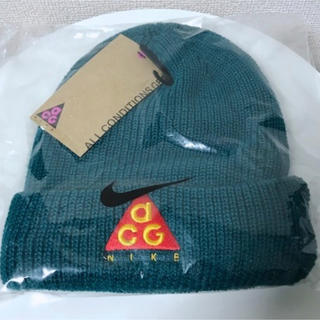 ナイキ(NIKE)のナイキ ACG ビーニー 新品 18aw 新作 ニットキャップ ニット帽 帽子 (ニット帽/ビーニー)