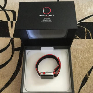 Apple Watch - Apple Watch series3  Cellular Nike+ 38mm