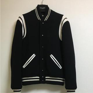 Saint Laurent - 超美品 Saint laurent paris テディジャケット サイズ46 黒