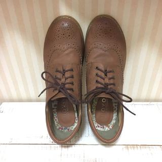 オックスフォード ブラウン(ローファー/革靴)