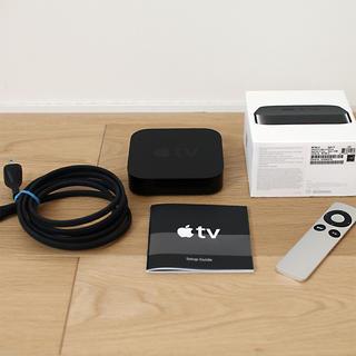 アップル(Apple)のApple TV 第3世代 A1469 MD199LL/A 美品 Airplay(その他)
