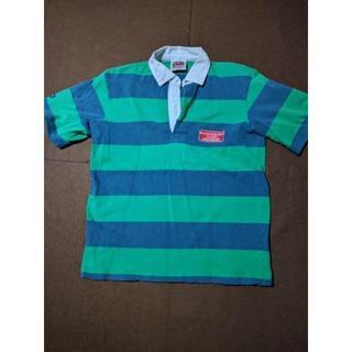 バーバリアン(Barbarian)のBARBARIAN/バーバリアン 半袖ラガシャツ メンズM グリーン(ポロシャツ)