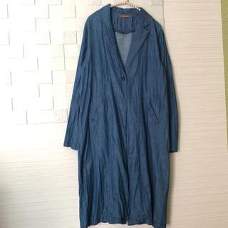 チャオパニック(Ciaopanic)の美品 チャオパニック デニムジャケット 薄手のコート (スプリングコート)