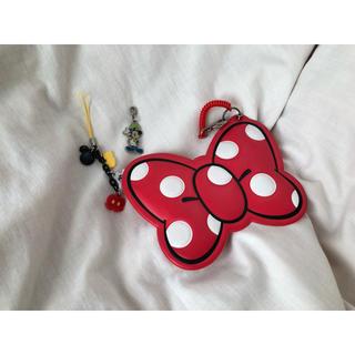 ディズニー(Disney)のディズニー パスケース キーホルダー ストラップ(ストラップ)