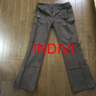 インディヴィ(INDIVI)のINDIVI パンツ(ワークパンツ/カーゴパンツ)
