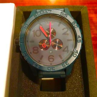 ニクソン(NIXON)の【美品!!】MENS NIXON 51-30人気モデル腕時計 マットグリーン🎀(腕時計(アナログ))