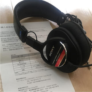 ソニー(SONY)のSONY MDR- CD900ST(ヘッドフォン/イヤフォン)