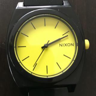ニクソン(NIXON)のニクソン★ブラック✖️イエロー  時計(腕時計(アナログ))