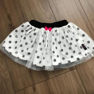 バービー(Barbie)のBarbie チュール付き ドット柄スカート(スカート)