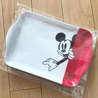 ディズニー(Disney)の新品 ディズニー ミッキー オリジナル メラミントレイ 非売品 ディズニーストア(キャラクターグッズ)