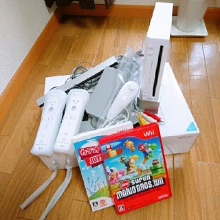 wii 本体 美品✨ソフト付き(家庭用ゲーム本体)