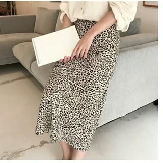レオパードスカート Sサイズ(ロングスカート)