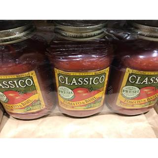 クラシコ(Classico)の(未開封)クラシコトマト&バジルソース  907g×3個(調味料)