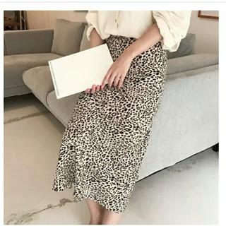 レオパードスカート Mサイズ(ロングスカート)