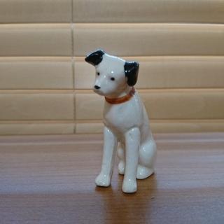 ビクター(Victor)のビクター  ニッパー犬   高さ5.5㎝  8号(置物)