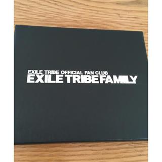 エグザイル トライブ(EXILE TRIBE)のEXILE ファンクラブ入会特典 記念品(ミュージシャン)