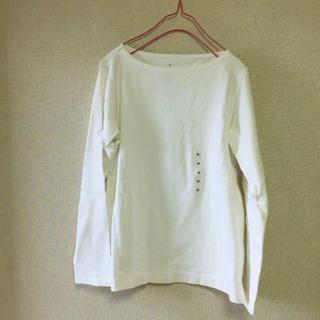 MUJI (無印良品) - 無印良品 オーガニックコットン太番手 長袖Tシャツ