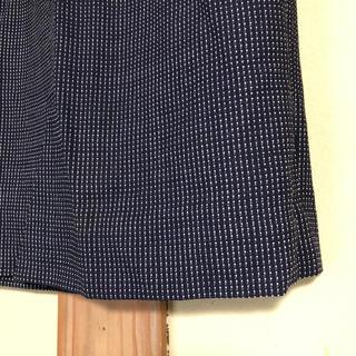ラルフローレン(Ralph Lauren)のドッド柄 タイトスカート(ひざ丈スカート)