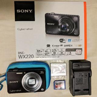 ソニー(SONY)のソニー サイバーショット DSC-WX220(コンパクトデジタルカメラ)