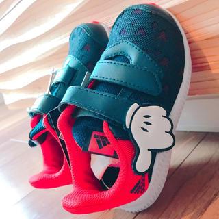 アディダス(adidas)の新品 adidas スニーカー ミッキー 14cm(スニーカー)