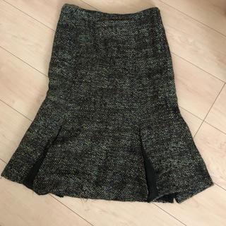 ザラ(ZARA)のZara  ツィード生地 スカート サイズ4(ひざ丈スカート)