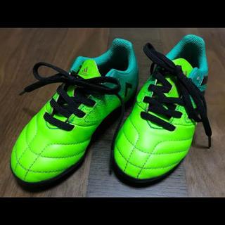 アディダス(adidas)のadidas 17㎝ サッカー フットサル スパイク トレーニングシューズキッズ(シューズ)