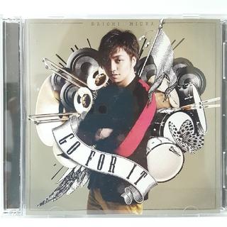GO FOR IT (SINGLE+DVD)三浦大知 Making ver.(R&B/ソウル)