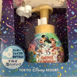 Disney - ディズニーリゾート限定! ミッキー型 ハンドソープ