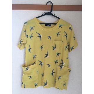 ネネット(Ne-net)の【Ne-net】Tシャツ ツバメT(イエロー)(Tシャツ(半袖/袖なし))