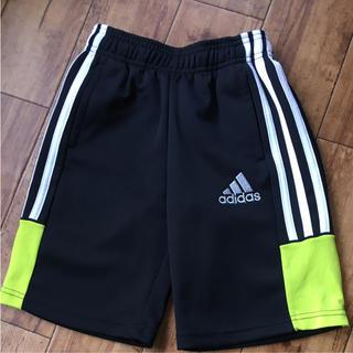 アディダス(adidas)の美品!adidas アディダス ハーフパンツ★黒110(パンツ/スパッツ)