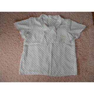 エニィスィス(anySiS)のanysis エニィシス 水玉ブラウス 1回のみ着用(シャツ/ブラウス(半袖/袖なし))