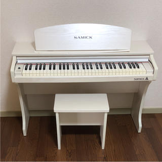 SAMICK サミック ミニデジタルピアノ 61 KID-O2/White(電子ピアノ)