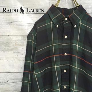 ラルフローレン(Ralph Lauren)のRalph Lauren チェックシャツ グリーン ラルフローレン(シャツ)