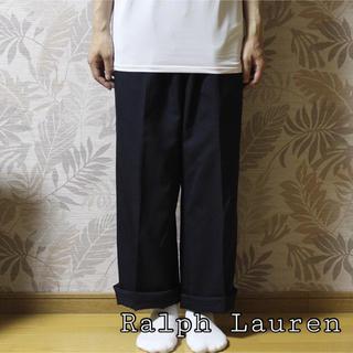 ラルフローレン(Ralph Lauren)の【早い者勝ち】Ralph Lauren ワイドスラックス(スラックス)