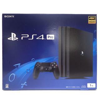 ソニー(SONY)のD50 SONY PS4 Pro 1TB CUH-7100B B01 店舗印無し(家庭用ゲーム本体)