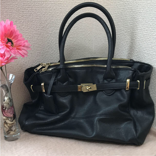 しまむら - しまむら 人気のバッグ 黒  美品