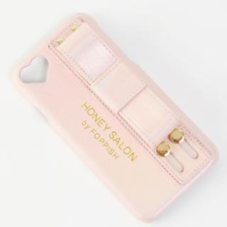 Honey Salon  ハニーサロン リボンハンドルiPhoneケース ピンク