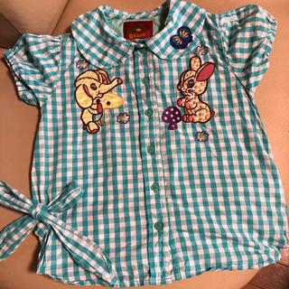 グラグラ(GrandGround)のグラグラ♡半袖シャツ♡サイズ6(120〜125)美品です(ブラウス)