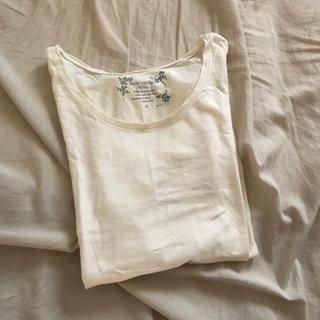 ロキエ(Lochie)のシンプルT オフホワイト 古着(Tシャツ(長袖/七分))