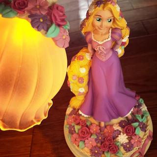 ディズニー(Disney)のディズニー ラプンツェル 完売品 ランプ 灯り ランプシェード 照明 (その他)