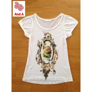 アンドエー(And A)のアンドエー ハンバーガーTシャツ 38(Tシャツ(半袖/袖なし))