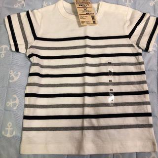 MUJI (無印良品) - 無印良品 ボーダー Tシャツ