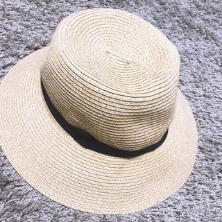 MUJI (無印良品) - 無印良品 麦わら帽子