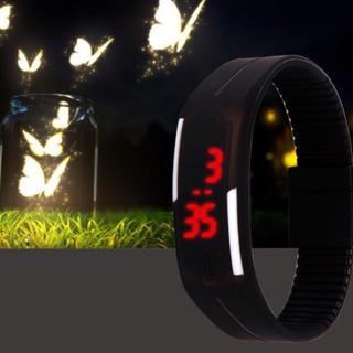 スマートウオッチ ラバーウォッチ デジタル 腕時計(腕時計(デジタル))