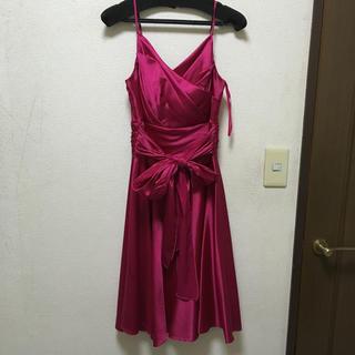 エメ(AIMER)の美品 AIMER エメ ドレス 結婚式(ミディアムドレス)