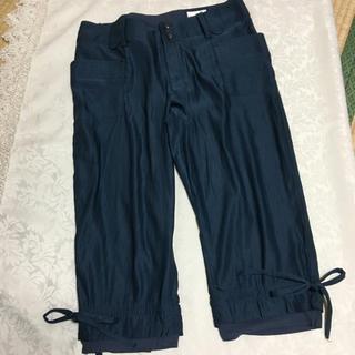 ブージュルード(Bou Jeloud)の新品未使用  ブージュルード   シルク調パンツ  Mサイズ(ワークパンツ/カーゴパンツ)