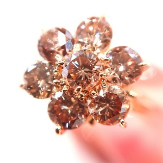 k18 K18 18金 ダイヤモンド リング 1ct越 11号 イエローゴールド(リング(指輪))