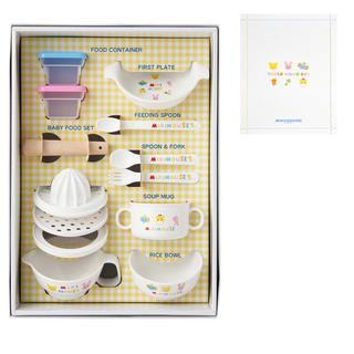 ミキハウス(mikihouse)の【新品未使用】mikihous 離乳食に便利なテーブルウェアセット(食器セット)(離乳食器セット)