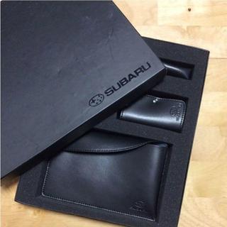 SUBARU フェイクレザー キーケース ポーチ ライターケース カードケース(キーケース)